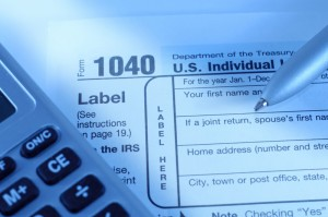 Filling out your form 1040